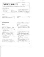 1985-07-Nieuwsbrief