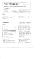 1985-08-Nieuwsbrief