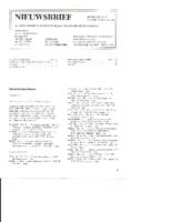 1985-09-Nieuwsbrief