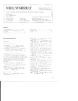 1985-10-Nieuwsbrief
