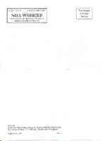 1991-01-Nieuwsbrief