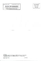 1991-02-Nieuwsbrief